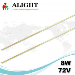 8W 72V Linear DC COB -  LED
