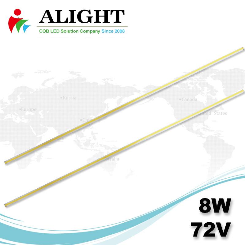 8W 72V DC lineare COB LED