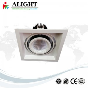 Adjustable 15W CREE LED Grille Light Recessed COB Spot Light
