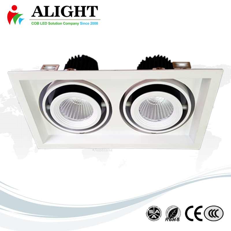 35Wx2 COB LED Recessed Down Light