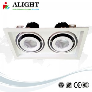 15W×2 recessed ceiling spot light