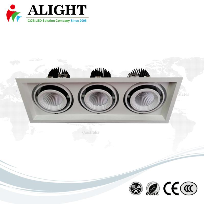 15W×3 recessed COB Down Light