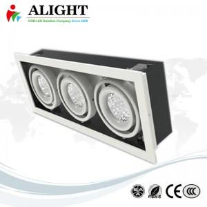 15W luce della griglia × 3 Cree COB LED