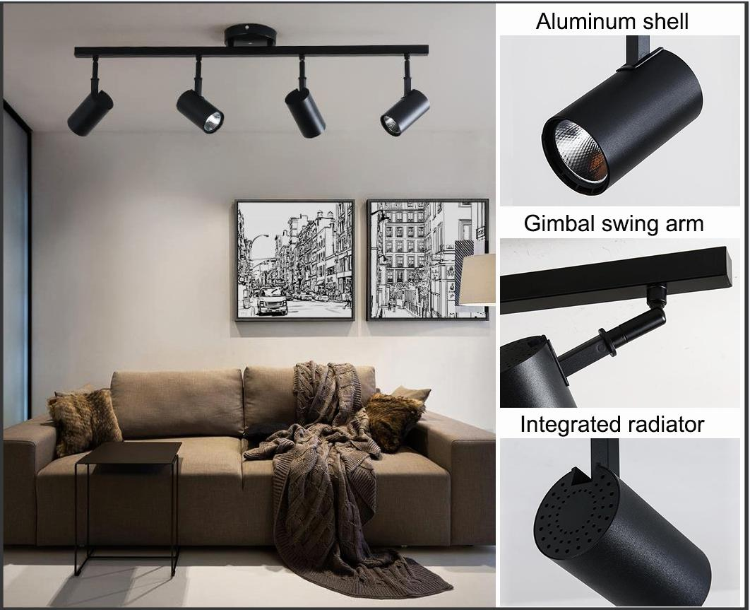 ALIGHT stylish surface mounted spotlights