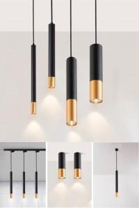 Nordic cylinder pendant lamp