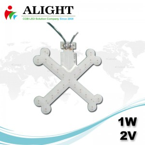 1w 2v DC RGB RED COB LED