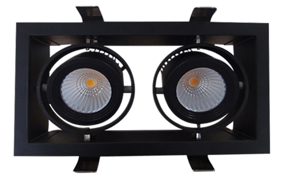 15wx2 cob led grille light