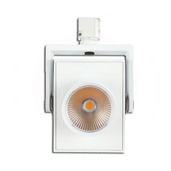 28W square led track light