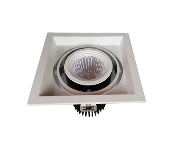adjustable 15w cree led grille light cob spot light