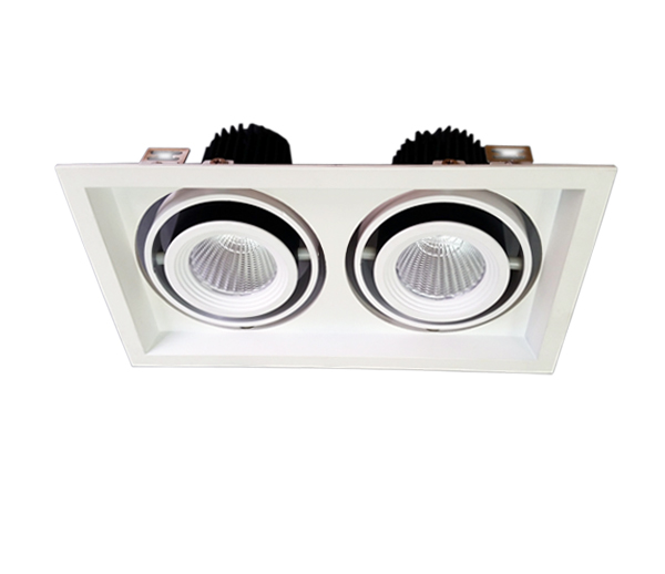 35wx2 cob led grille light