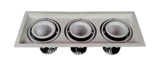 15W×3 cob led grille light