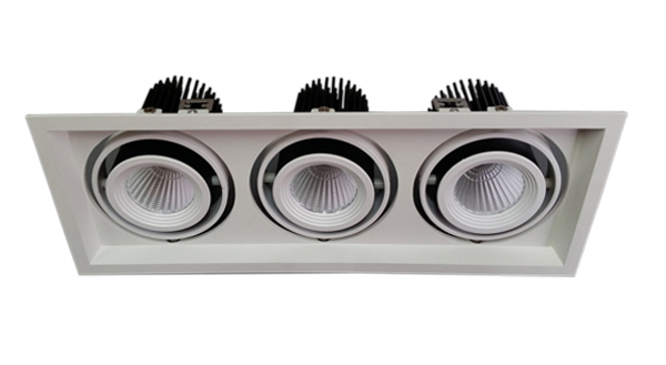 35w×3 cob led grille light