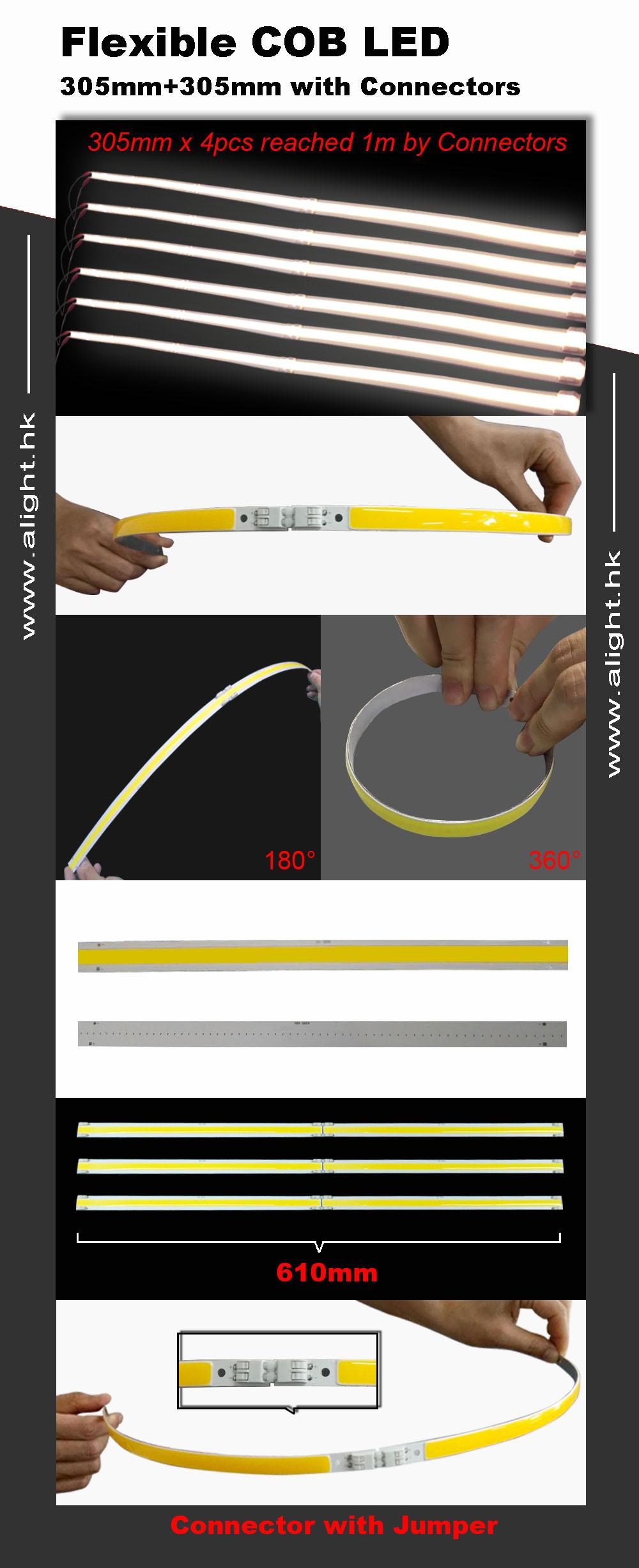 LED COB flexível