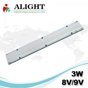 3w 8v/9v DC COB LED