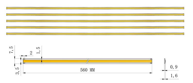 560 millimetri