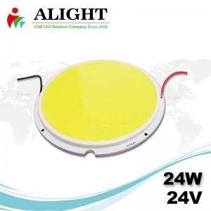 24W 24V Round DC COB LED
