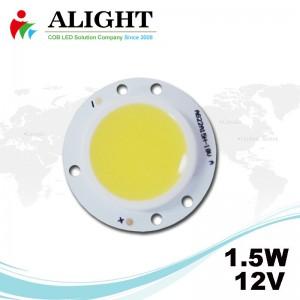 1.5W 12V Round DC COB LED
