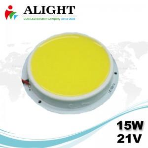 15W 21V Round DC COB LED