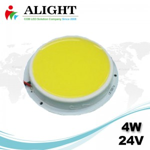 4W 24V Round DC COB LED