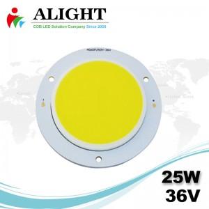 25W 36V Round COB LED