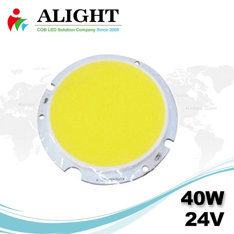 40W 24V Round DC COB LED