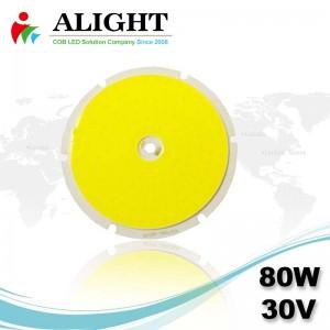 80W 30V Round DC COB LED