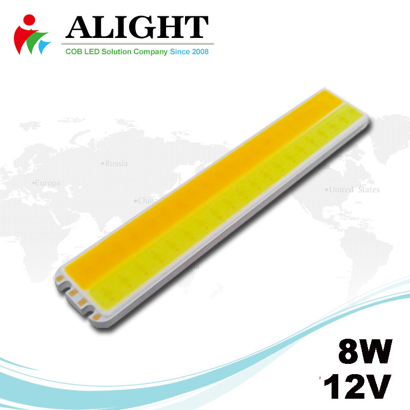 8W 12V Rectangle DC COB LED