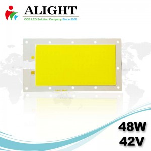 48W 42V Rectangle DC COB LED