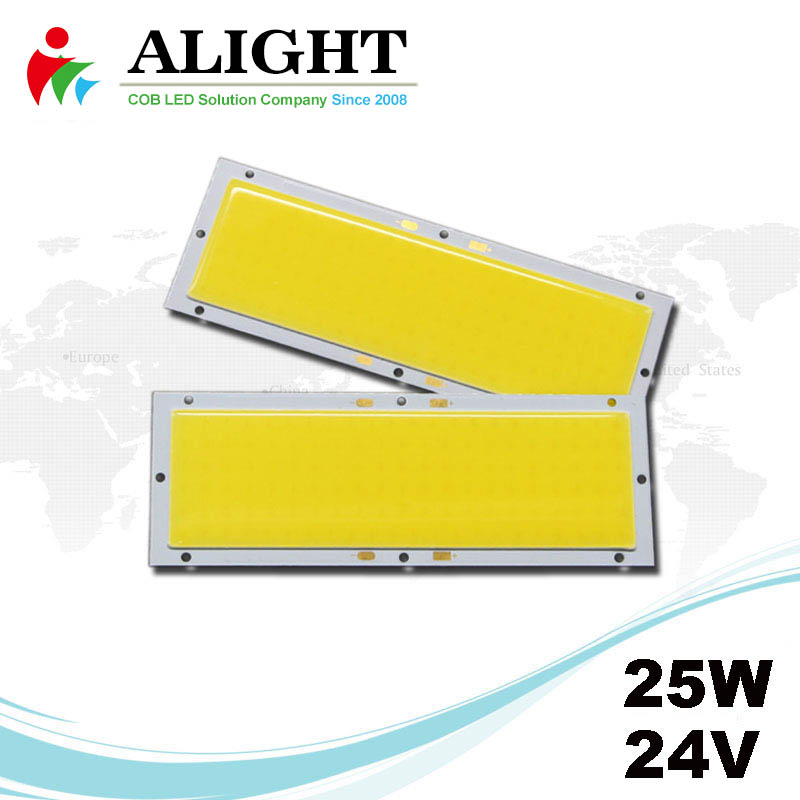 25W 24V Rectangle DC COB LED