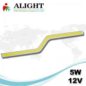 5W 12V DCのCOB LED