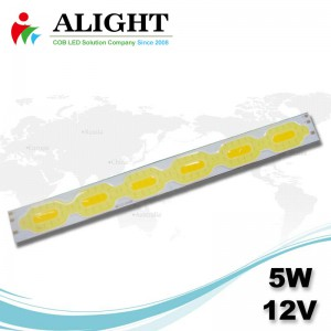 5W 12V Linear DC COB-LED