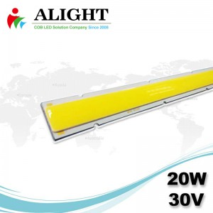 20W 30V Linear DC COB-LED