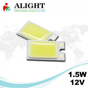 1.5W 12V Rectangle DC COB LED