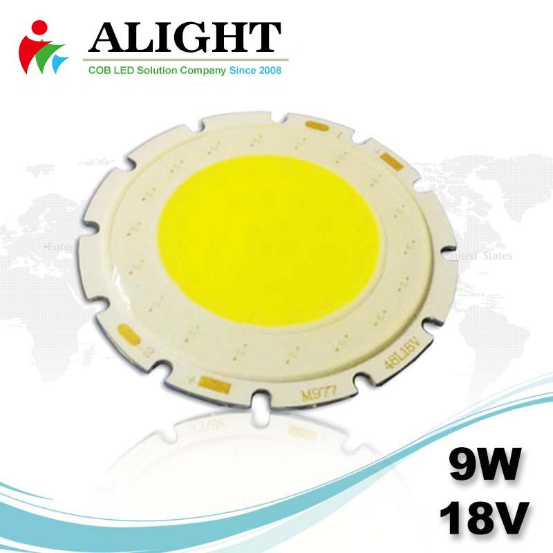 9W 18V DC COB LED