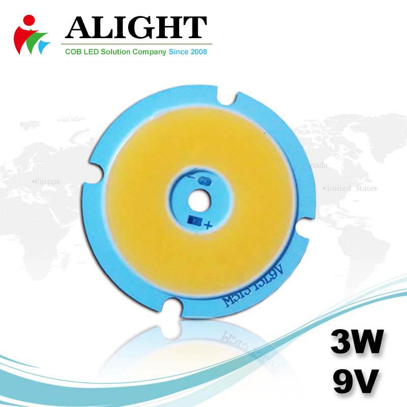 3W 9V DC COB LED