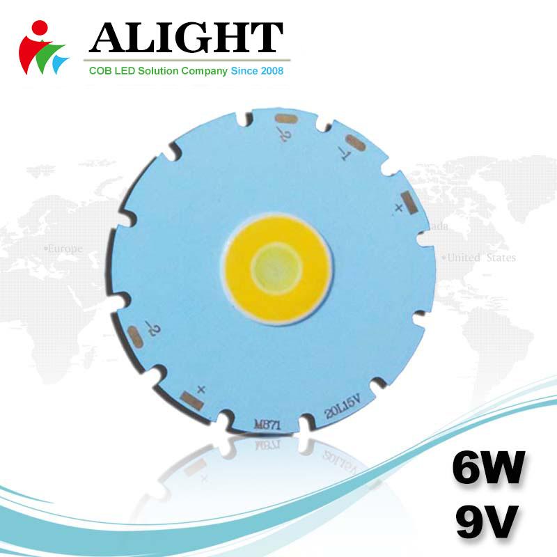 6W 9V DC COB LED