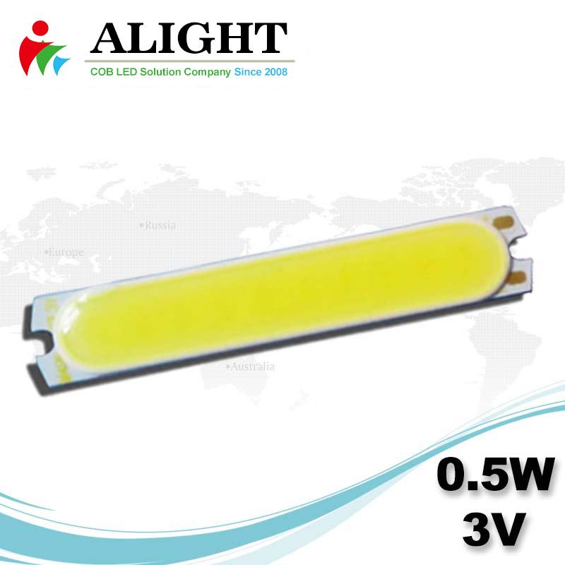 0.5W 3V DC COB LED