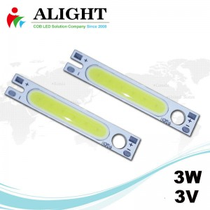 3W 3V Rectangle DC COB LED