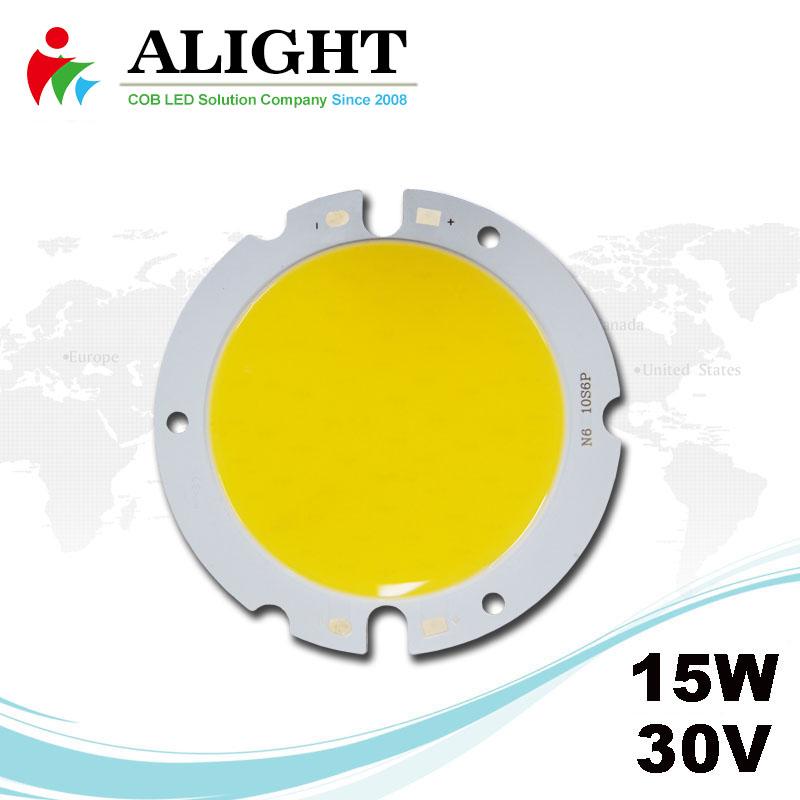 15W 30V Round DC COB LED