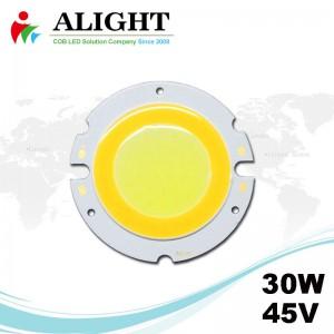 30W 45V Round DC COB LED