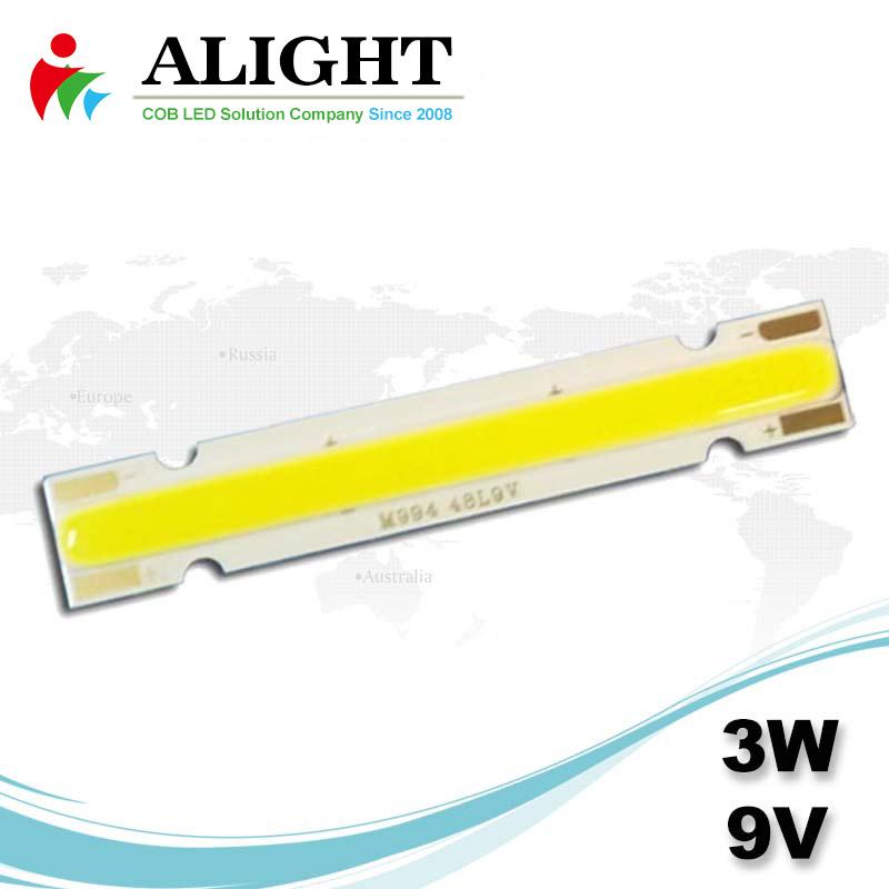 3W 9V Linear DC COB LED