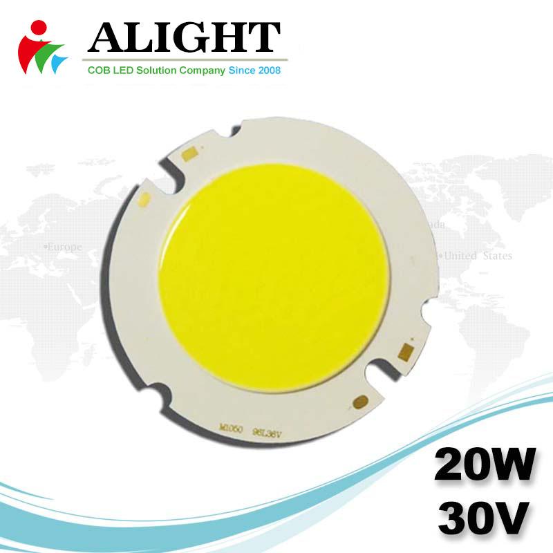 20W 30V Round DC COB LED