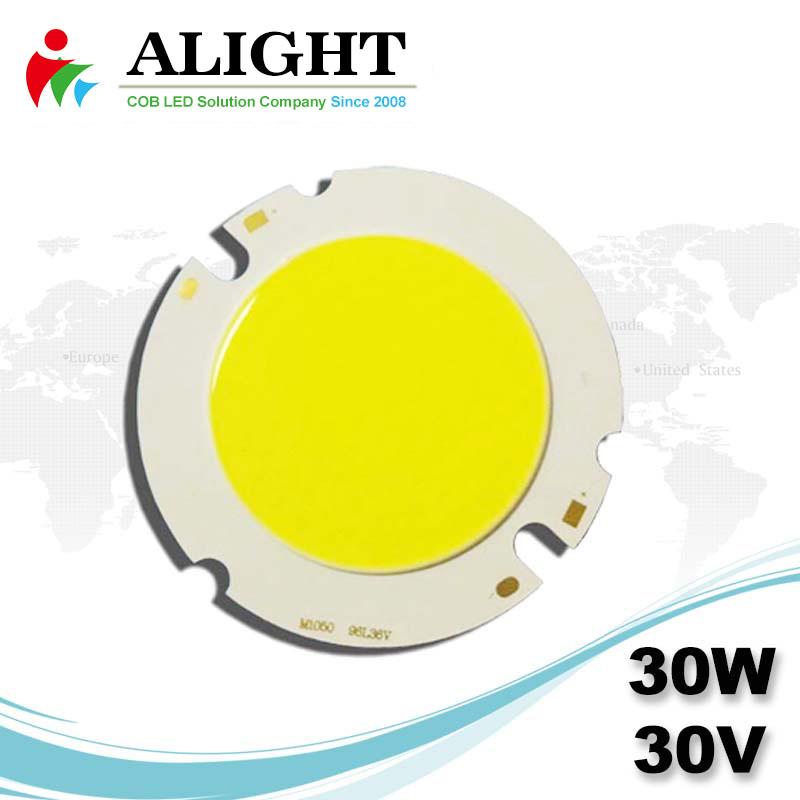 30W 30V Round DC COB LED