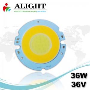 36W 36V Round DC COB LED