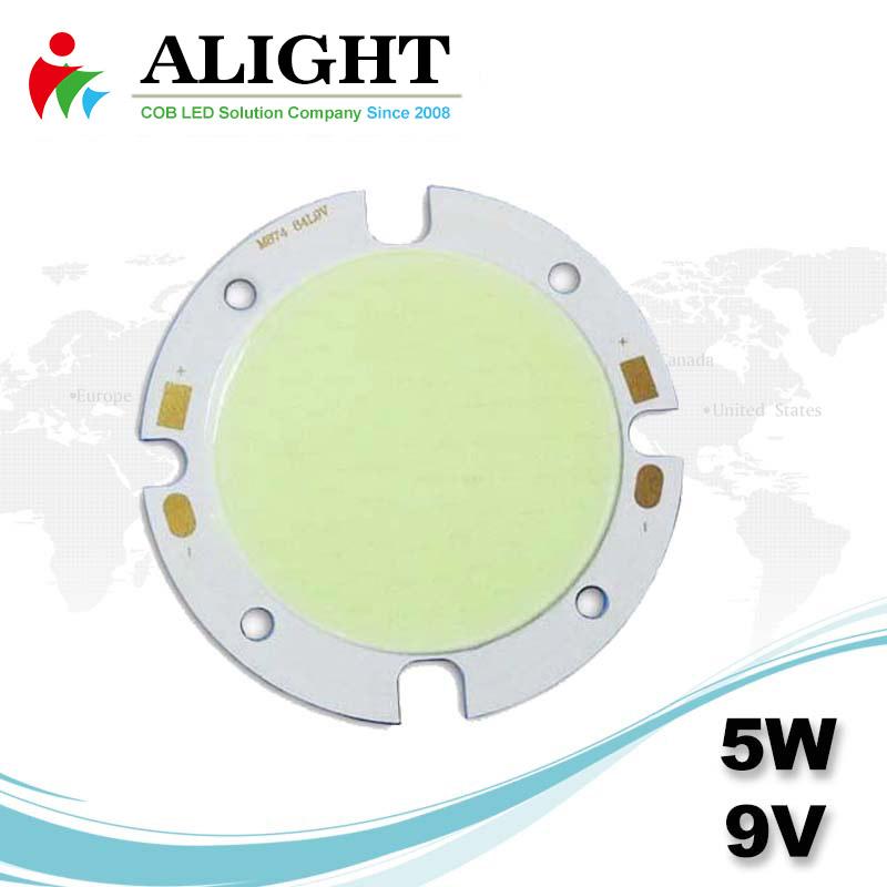 5W 9V DC COB LED