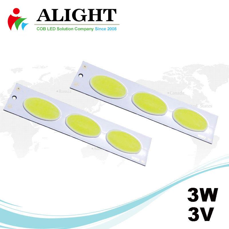 3W 3V DC COB LED