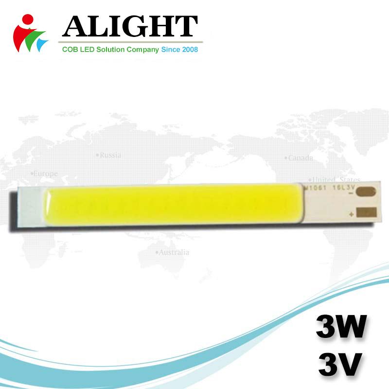 3W 3V Linear DC COB LED