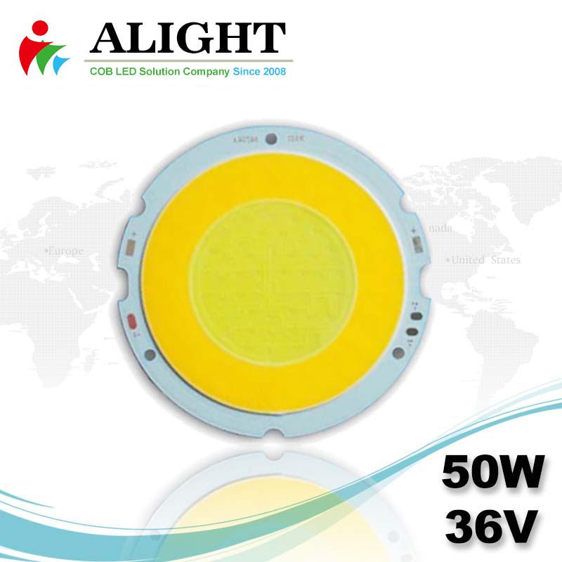 50W 36V Round DC COB LED