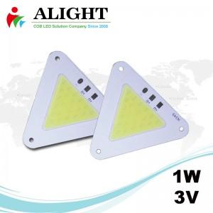 1W 3V DC COB LED
