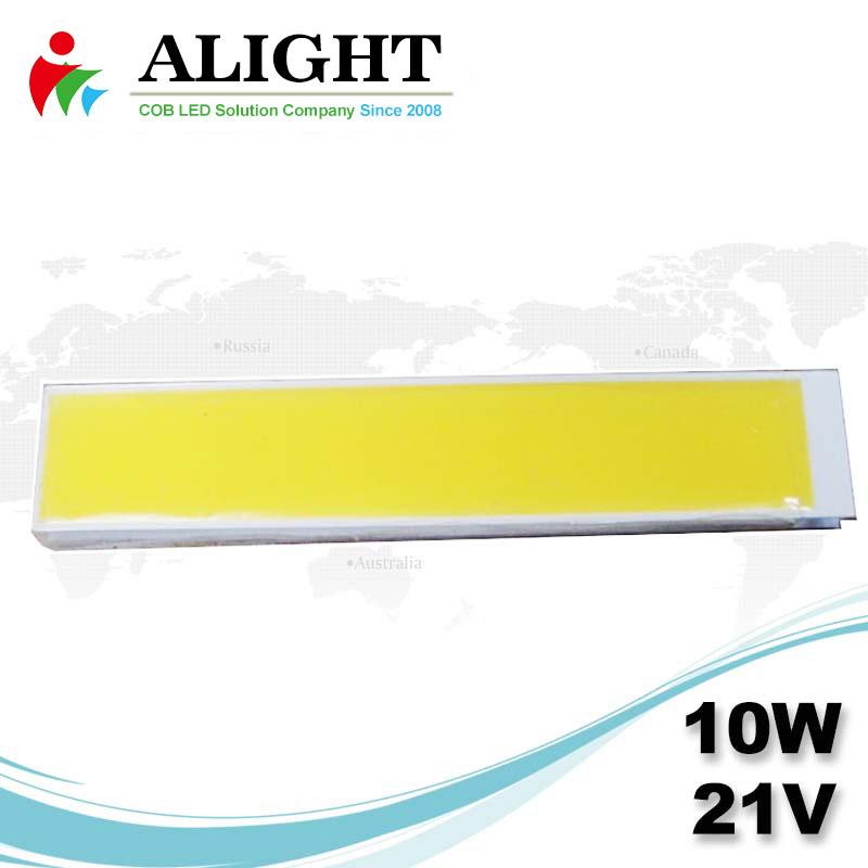 10W 21V Rectangle DC COB LED